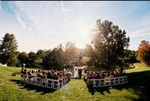 Boar's Head Ceremony Locations / Say 'I Do' on the beautiful Boar's Head grounds with 573 acres of rolling Virginia countryside from which to choose.