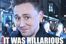 Tom Hiddleston (hilarious)  / Tom Hiddleston  Hilarious Talented Loki'd  / by Crystal Lai