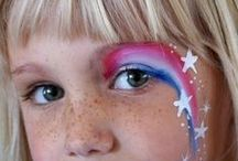 Kids' Face Paint / Face paint ideas for the kids, curated by Lil' Locks hair salon.