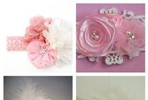 Hair Accessories / Various hair accessories for girls and their moms, curated by Lil' Locks kids' hair salon.