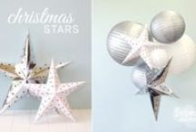 Silver, Aqua & White Frost Kissed Christmas Decorations / Winter inspired Christmas theme full of silver, aqua and white christmas decoration delights!  Available to purchase at our online store www.thepaperlantern.com.au