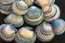 muszelki - shell art