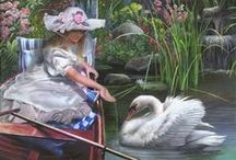 Animals - Swans