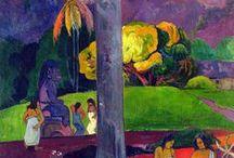 gauguin / art paul Gauguin, arte Paul Gauguin (Bachmors artist selection, Saatchi art)