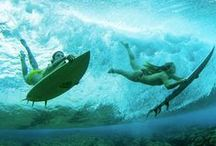 Sports - Water / Surfing, wind-surfing, skiing, Scuba diving, swimming
