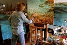 artist contemporary studios / artist contemporary studios, estudios de arte contemporaneos, (Bachmors artist selection, Saatchi art)