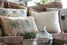 Calm Spaces for Home / Calming rooms, calming home decor, succulents, calming home accessories.