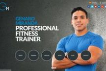 Website Genaro Miranda -Personal Trainer / Genaro Miranda has been a professional fitness trainer in South Florida for more than 10 years, and has helped hundreds reach their fitness goals.