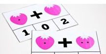 Math Activities for Kids / Math activities for preschool and grade-school. Match games, math printables, learning math, teaching math to kids.