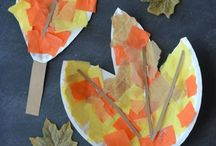 Fall Activities for Kids / Fall themed crafts for kids, autumn crafts for kids. Fall activities for kids. Halloween activities for kids.
