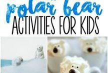 Winter Activites for Kids / Winter activities for kids and families. Snow activities, indoor snow day play, winter science Activities.