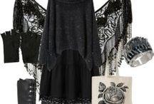 Amo questo stile di abbigliamento  (foto creative) / lo stile dark , gothic che amo e abbigliamento  da acquistare