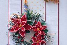 Boże Narodzenie - quilling