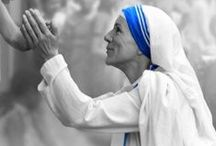 """Mother Teresa / """"MOTHER TERESA, recipient of the Nobel Peace Prize, is considered one of the greatest humanitarians of modern times..."""" (www.thelettersmovie.com)"""