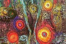 textile art.