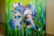 Olej ArtRatka / Obrazy malowane farbą olejną  na podobraziu płóciennym .