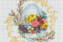 Wielkanoc - haft