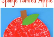 Apple Crafts for Kids / Apple crafts for kids. Apple activities for kids. Apple activities for fall.
