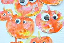 Pumpkin Crafts for Kids / Pumpkin crafts for kids. Pumpkin art, pumpkin crafts, pumpkin themed activities for kids. #pumpkincrafts