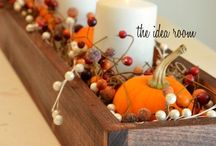 Thanksgiving Table / Thanksgiving table ideas. Thanksgiving table setting, centerpieces and decorations.