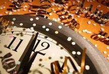 """January 1: New Year's Day / From The Life and Times of a Contemporary New England Witch (http://bit.ly/W4py9P): """"Have any and all salt shakers in the house filled...(and) an abundance of bread and grain products...  New Year's Day(/Eve), are great days for giving the house...a thorough cleaning...  Smudging your home or business...Redecorating, reorganizing or even moving furniture around...aid in bringing in a fresh, new air.  Have fresh flowers in your house...and NEVER eat leftovers on New Year's Day!!!""""  / by Daily Celebrations"""