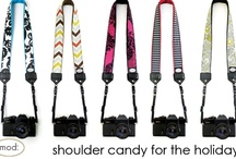 Mod Camera Straps / Sensible, sophisticated, and savvy, you are a woman who demands high fashion with practicality… and who says you can't have it all?