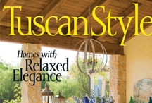 ★Tuscan, Mediterranean 1 / The Mediterranean style is born of Spanish, Italian and Greek influences; these countries each bring a mix of local color and culture to the interior schemes that embrace the blend of indoors and outdoor living.The melding of the Italian, Greek and Spanish Mediterranean has been re-interpreted to adapt to individual regional climates, color and culture, drawing from local materials and crafts to establish yet another niche in the vast array of schemes that is Mediterranean decor.  / by ~♥~M u r i e l ~♥~