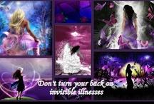 INVISIBLE ILLNESSES - FMS, CFS/ME, RA, Lupus, Chronic Pain, etc. / Related to Fibromyalgia (FMS), Chronic Fatigue Syndrome (CFS) / Myalgic Encephalomyelitis (ME) or Chronic Pain / by Sheila Mitchell-Favrin