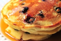 """January 28: National Blueberry Pancake Day / """"You wouldn't think the pancake could be improved upon, but the more adventurous breakfast chefs know better. Toss a few blueberries into the batter and you've added color and antioxidants."""" ~http://www.theultimateholidaysite.com/holidays/2013-1/#!national-blueberry-pancake-day / by Daily Celebrations"""