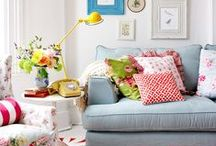 Apartment Living / Colorful, inexpensive, and simple ideas for decorating our little apartment in Alexandria.