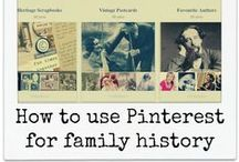 Pinterest for Genealogy / by Annette Armstrong Berksan