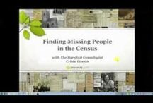 Research :: Census Records / by Annette Armstrong Berksan