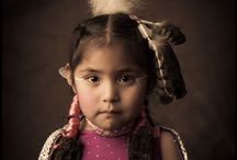 The American Indian - Kim Jew Portraits / The Contemporary American Indian