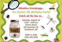 Bugs / Insects Party Ideas / bugs party ideas • bugs invitation ideas • bugs cake ideas • bugs decoration ideas • bugs party supplies • bugs party favor ideas and more!