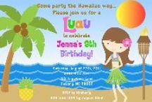 Luau Party Ideas / luau party ideas • luau invitation ideas • luau cake ideas • luau decoration ideas • luau party supplies • luau party favor ideas and more!