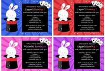 Magic Themed Party Ideas / magic themed party ideas • mermaid themed invitation ideas • magic themed cake ideas • magic themed decoration ideas • magic themed party supplies • magic themed party favor ideas and more!