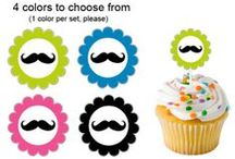 Mustache Party Ideas / mustache party ideas • mustache invitation ideas • mustache cake ideas • mustache decoration ideas • mustache party supplies • mustache party favor ideas and more!