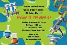 Science Party Ideas / science party ideas • science invitation ideas • science cake ideas • science decoration ideas • science party supplies • science party favor ideas and more!