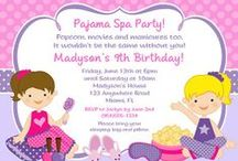 Slumber Party Ideas / slumber party ideas • slumber party invitation ideas • slumber party cake ideas • slumber party decoration ideas • slumber party supplies • slumber party favor ideas and more!