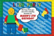 Lego Party Ideas / Lego party ideas • Lego invitation ideas • Lego cake ideas • Lego decoration ideas • Lego party supplies • Lego party favor ideas and more!