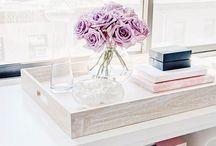 detalhes de décor / Arranjos florais, referências de organização e detalhes que incrementam a decoração / by Ale Garattoni