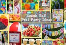 Pool Party Ideas / pool party ideas • pool party invitation ideas • pool party cake ideas • pool party decoration ideas • pool party supplies • pool party favor ideas and more!