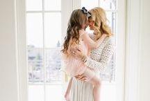 mãe e filha / O estilo de mães – e grávidas – que inspiram