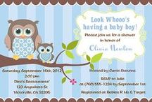 Owl Baby Shower Ideas / owl baby shower ideas • owl baby shower invitation ideas • owl baby shower cake ideas • owl baby shower decoration ideas • owl baby shower supplies • owl baby shower favor ideas and more!