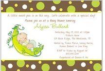 Baby Shower Invitations / Baby Shower Invitations, Personalized Baby Shower Invitations, Custom Baby Shower Invitations, Invitations, Invites, Baby Shower Ideas