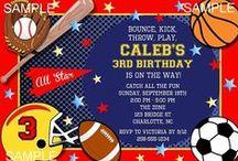 Kids Birthday Party Invitations / Kids Birthday Party Invitations, Kids Party Invitations, Kids Birthday Invitations, Personalized Party Invitations, Kids Custom Party Invitations, Invitations, Invites, Kids Birthday Party Ideas