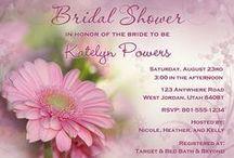 Bridal Shower Invitations / Bridal Shower Invitations, Bachelorette Party Invitations, Lingerie Shower Invitations, Lingerie Party Invitations, Personalized Bridal Shower Invitations,  Invitations, Invites, Bridal Shower Ideas
