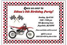 Dirt Bike Motocross Party Ideas / dirt bike party ideas • dirt bike invitation ideas • dirt bike cake ideas • dirt bike decoration ideas • dirt bike party supplies • dirt bike party favor ideas and more!