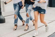 semanas de moda / Os melhores looks de street style durante as temporadas de moda de NY, Paris, Londres e Milão / by Ale Garattoni