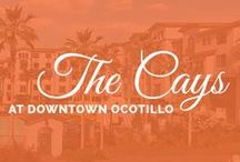 The Cays- Luxury Condos in Chandler, AZ / The Cays at Downtown Ocotillo offers an exclusive collection of Luxury Condos in Chandler AZ, located in the upscale Ocotillo Community overlooking the Lakes of Ocotillo. Choose from a selection of 1, 2 bedroom single level condos or Exclusive Penthouse/Loft Suites, many with large private patios, and all with gated underground parking. Pick from a range of enticing options to personalize your own slice of paradise.